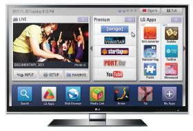 Fernsehr LG 42LW659s 3D Full HD TV