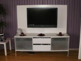 Fernsehschrank Farbe Weiss - Neuwertig