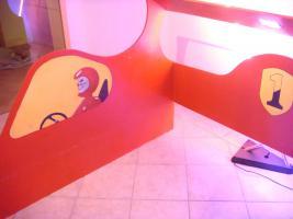 Foto 2 Ferrari Bettumrandung inkl. Beleuchtung 157cm x 210 cm