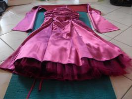 Foto 4 Festliches Kleid mit Stola/ Abiballkleid Gr. 36