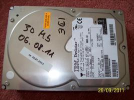 Foto 4 Festplatten: 20 GB, 30 GB, 40 GB (IDE)