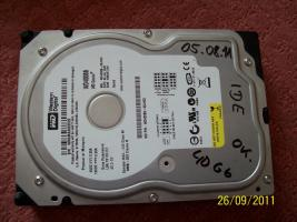 Foto 5 Festplatten: 20 GB, 30 GB, 40 GB (IDE)
