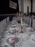 Festsaal für Hochzeit