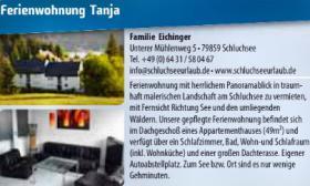 Fewo Ferien 2014 im wunderschönen Hochschwarzwald - Schluchsee -