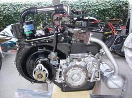 Fiat 500 Motor Oldtimer