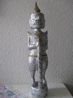 Figur Tempelwächter Thailand oder Tibet