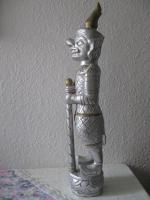 Foto 2 Figur Tempelwächter Thailand oder Tibet