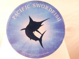 Foto 2 Fiji-Neuseeland, Swordfish,1 Oz Silber/Gildet PP