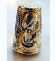 Fingerhut Engel H2,5xD2 cm, Sterling Echtsilber 925
