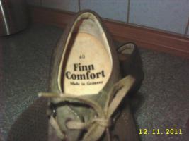 Foto 2 Finn Comfort graubraune Raulederschuh Gr. 40, für lose Einlagen geeignet