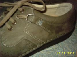 Foto 3 Finn Comfort graubraune Raulederschuh Gr. 40, für lose Einlagen geeignet
