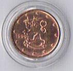 Finnland 1 Euro Cent '' 1999 '' !