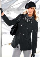 Flausch-Jacke schwarz von Aniston Gr. 38 - OVP - NEU