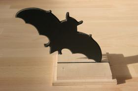 Fledermaus Figur Dekoration Arylglas