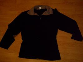 Fleece Pullover schwarz-warm-Gr.M(38/40)