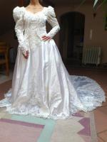Foto 4 Flensburg Brautkleid, VHB 370 €, ...Brautmode, Hochzeitskleid mit Schleier und Schleppe