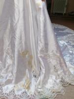 Foto 5 Flensburg Brautkleid, VHB 370 €, ...Brautmode, Hochzeitskleid mit Schleier und Schleppe