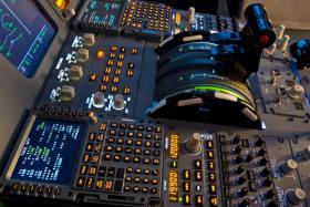 Cockpit A 320