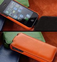 Flip Cases. Etui für iphones in Rindsleder und vielen schicken Farben.