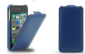 Foto 2 Flip Cases. Etui für iphones in Rindsleder und vielen schicken Farben.