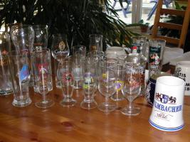 Gläser, Humpen