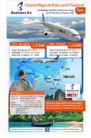 Flüge ab Köln nach Bangkok und Phuket