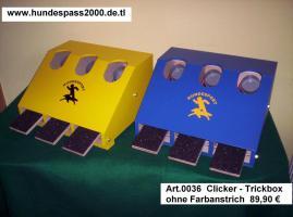 Foto 3 Flyballbox --- unterschiedliche Bauarten