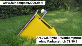 Foto 4 Flyballbox --- unterschiedliche Bauarten