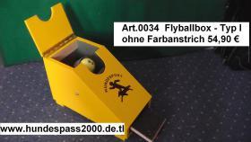 Foto 5 Flyballbox --- unterschiedliche Bauarten