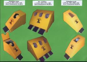 Foto 6 Flyballbox --- unterschiedliche Bauarten