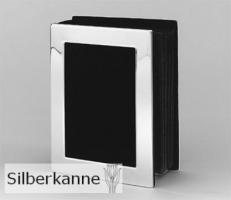 Fotoalbum Alford für Bilder 10x15cm, versilbert / SILBER plated