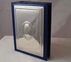 Fotoalbum Medaillon 18x26 cm für Foto 10x15cm Silber 925 Sterlin