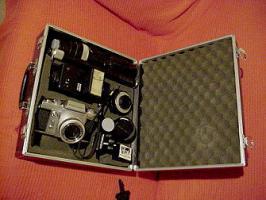 Fotoausrüstung der 60er Jahre