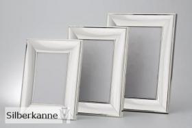 Fotorahmen poliert 9x13 cm, versilbert / SILBER plated
