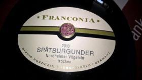 Franconia Spätburgunder