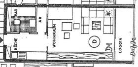 Frankenthal - 1 Zimmer, Küche, Bad, Balkon - Eigentumswohnung