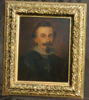 Franz von Lenbach 1836-1904:Adolf F. Graf von Schack Öl