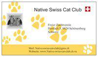 Freier Katzenzuchtverein Native Swiss Cat Club