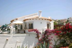 Foto 9 Freistehende Villa in Murla an der Costa Blanca