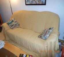 Freundlicher Couchüberwurf - Raumaufheller