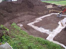 Frischer Verf�llboden ( Mutterboden ) an Selbstabholer