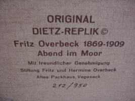 Foto 2 Fritz Overbeck ''Abend im Moor''