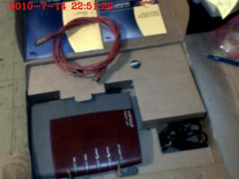 Foto 2 Fritz!Box Fon WLAN 7170 ISDN / DSL Firewall Router TK-Anlage