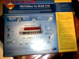 Foto 4 Fritz!Box Fon WLAN 7170 ISDN / DSL Firewall Router TK-Anlage