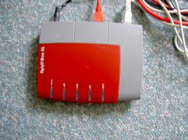 Fritz!Box SL DSL Modem Router - Serien-Nr: 2000 1654