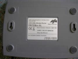 Foto 3 Fritz!Box SL DSL Modem Router - Serien-Nr: 2000 1654