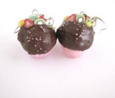 ' Fruchtige ' Törtchen Ohrringe