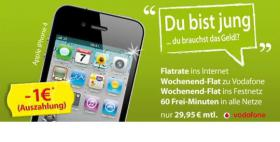 Für junge Leute und Studenten: iPhone 4 Sommeraktion