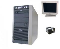 Fujitsu-Siemens Scenic W 600,2,4 GHZ + 15 TFT + Drucker