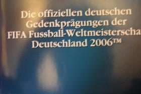 Fußball WM 2006 -Silbermünzen -ab 8 EUR